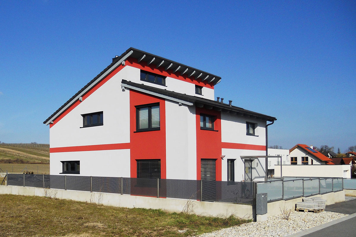 Marchfeldhaus Referenz Einfamilienhaus