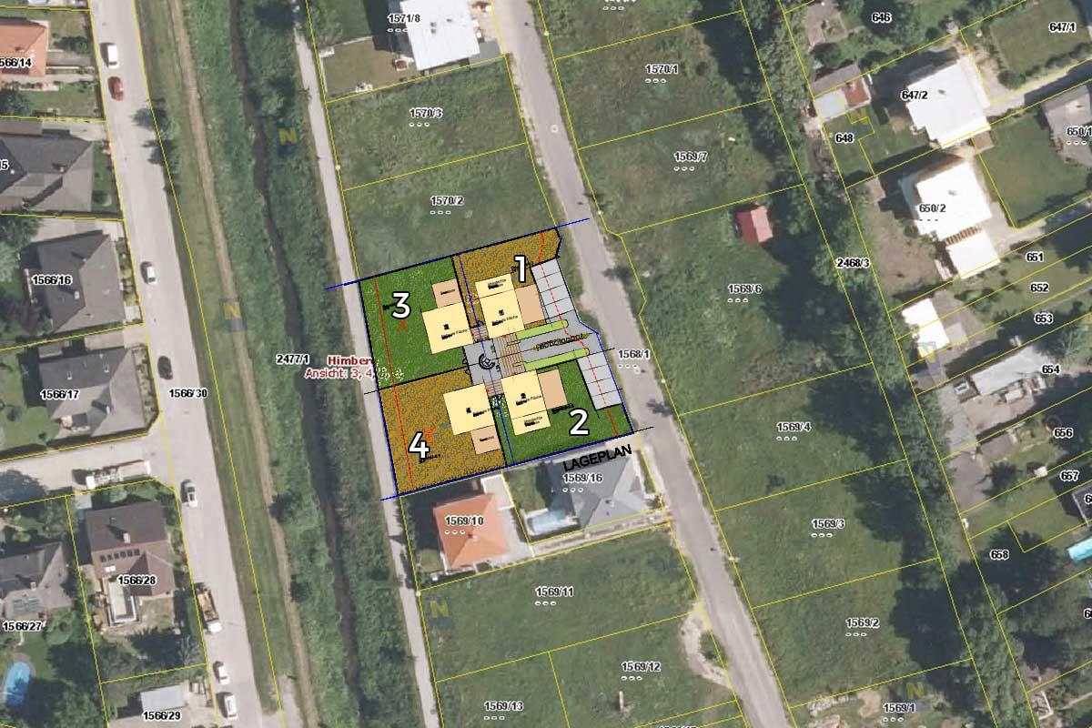 Grundrissplan Projekt Himberg