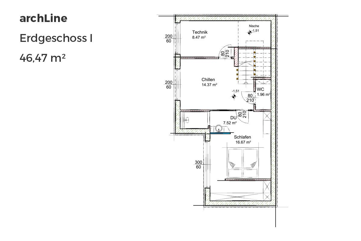 Marchfeldhaus archLine Erdgeschoss I