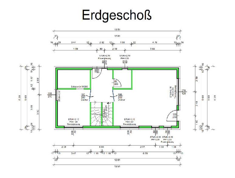 Marchfeldhaus Projekt Lassee Erdgeschoss