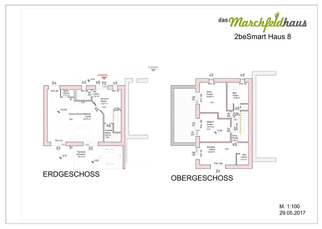 Marchfeldhaus Projekt Angern 2beSmart Haus 8