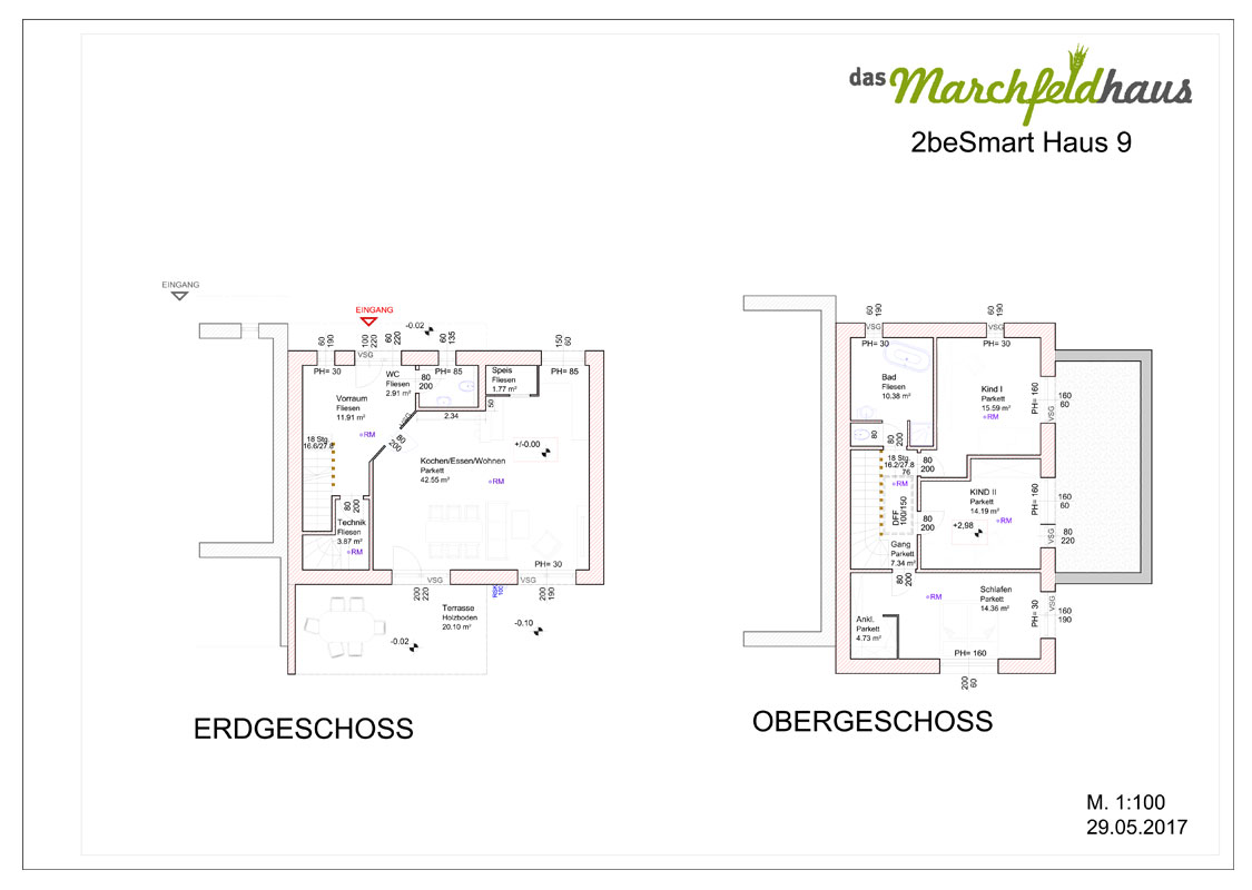 Marchfeldhaus Projekt Angern 2beSmart Haus 9