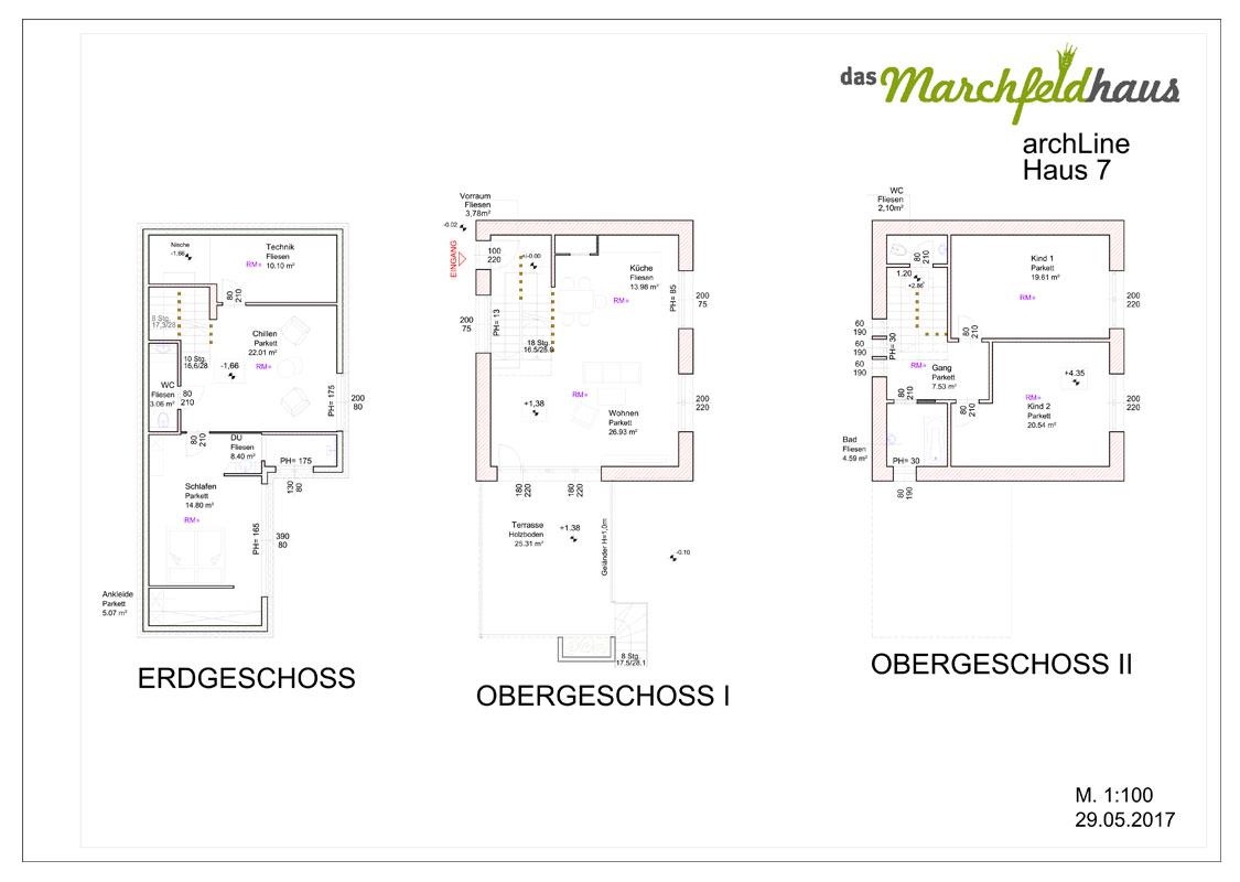 Marchfeldhaus Projekt Angern archLine Haus 7