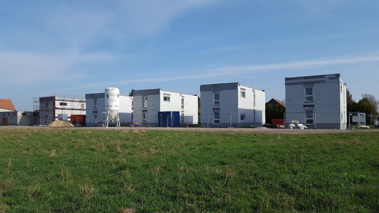 Baufortschritt Projekt Lassee